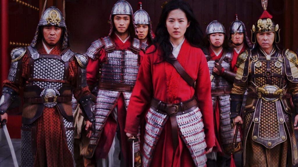 Mulan Movie Scene