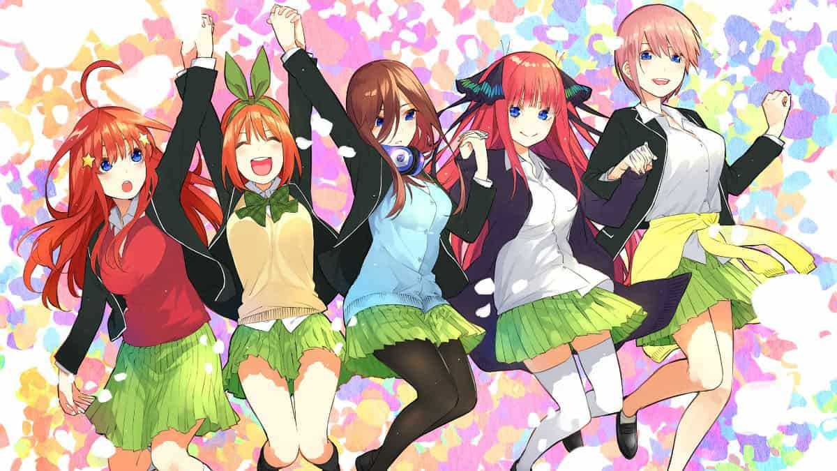 Where To Watch The Quintessential Quintuplets Season 2