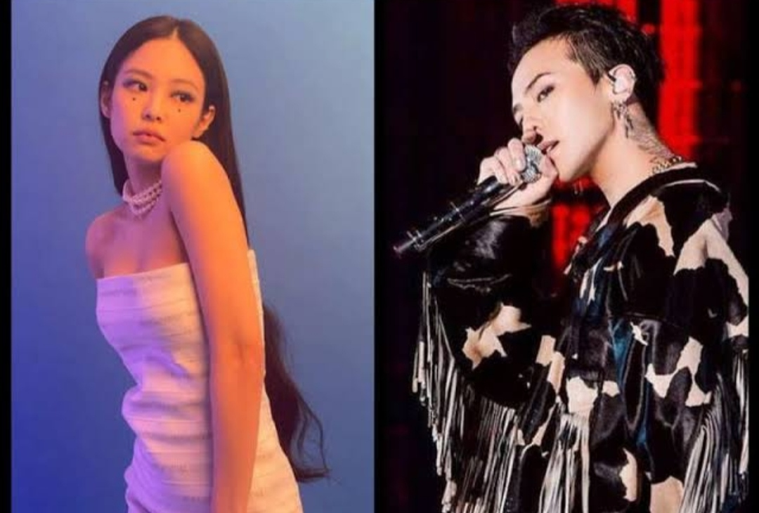 Jennie and G-Dragon