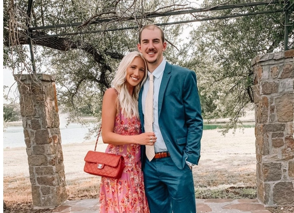 Alex Caruso with his ex-girlfriend Abby Brewer