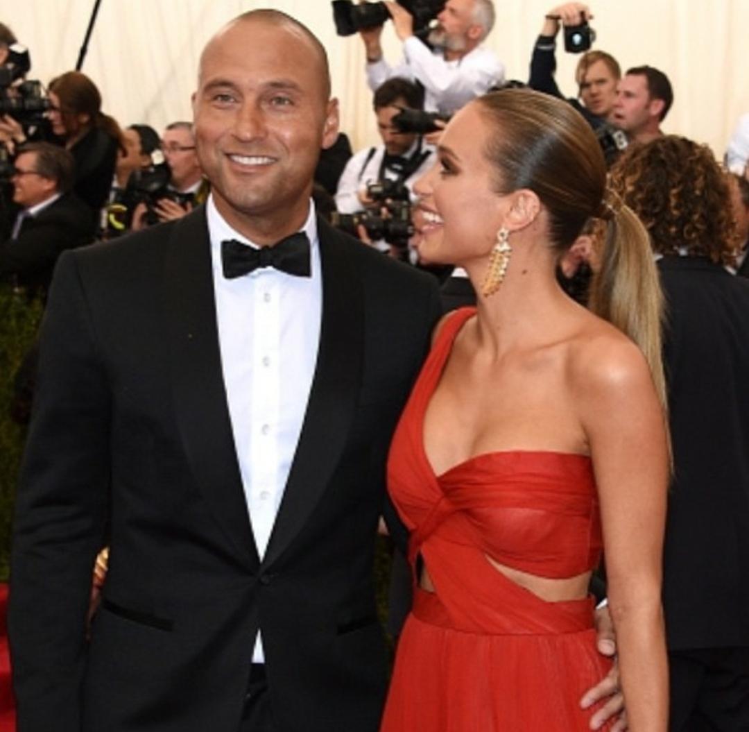Derek Jeter With Wife Hannah